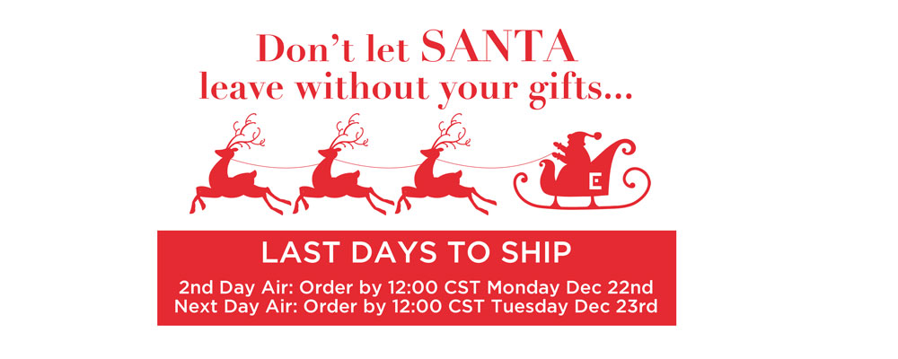 Last day to ship
