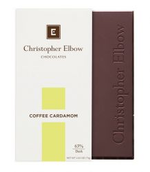 Coffee Cardamom Dark Chocolate Bar