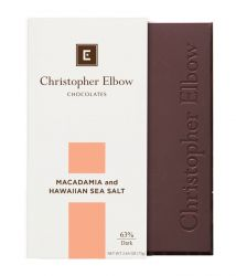 Macadamia Sea Salt Dark Chocolate Bar