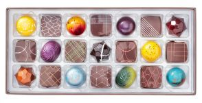 21 Piece Gourmet Chocolates