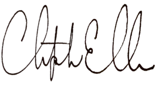 Signature of Christopher Elbow